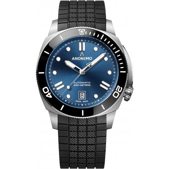 Anonimo diving watch Nautilo 42mm Classic Blue Automatic ref. AM-5009.09.103.R11 - Pastore-Nicolet
